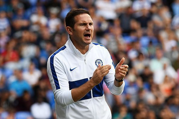 Lampard will hope for a strong start to his Chelsea managerial career.