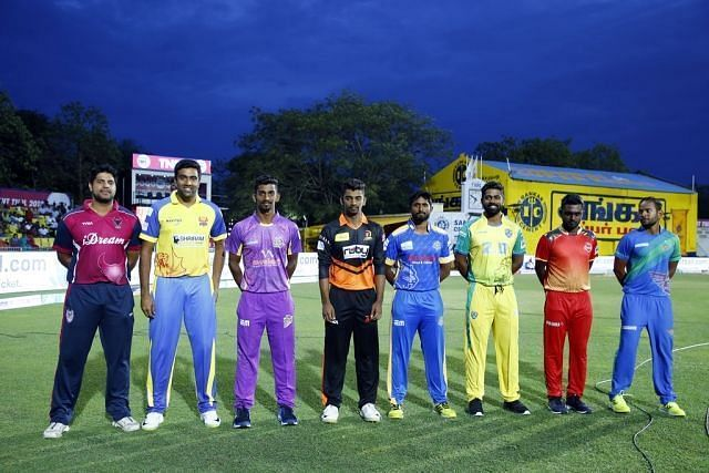 TNPL Team Captains