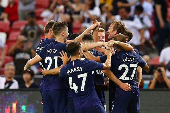 Tottenham Hotspur defeated Juventus 3-2 in the 2019 International Champions Cup