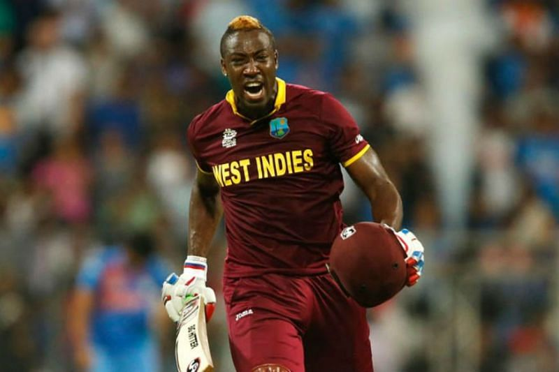 Andre Russell is one of the most dangerous T20 players in the world