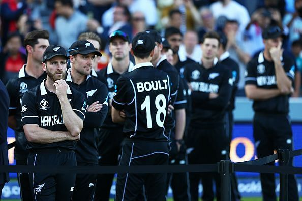 Life goes on for the New Zealand team
