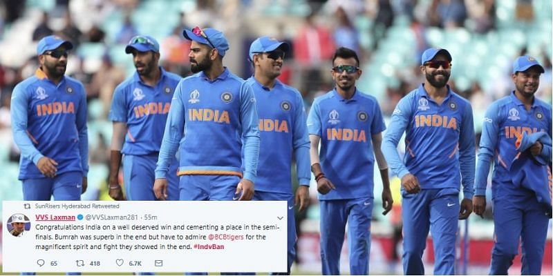 India have now qualified for the semis