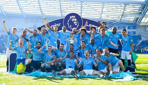 Manchester City were too strong for Liverpool last season