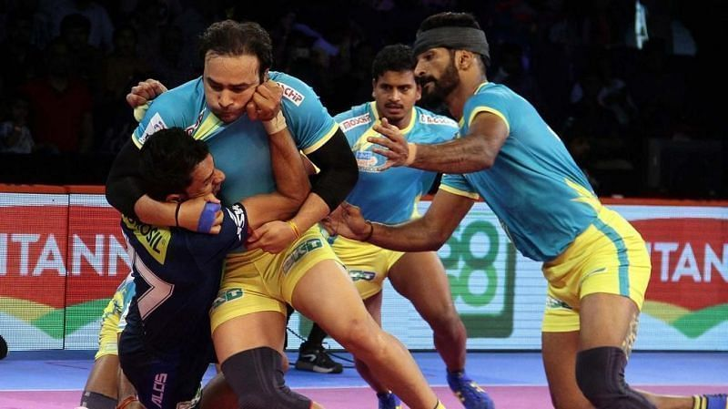 Best defenders from the Hyderabad leg