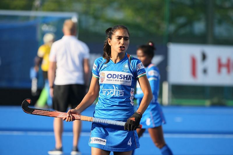 Monika looks forward to playing Australia in the Olympic Test event