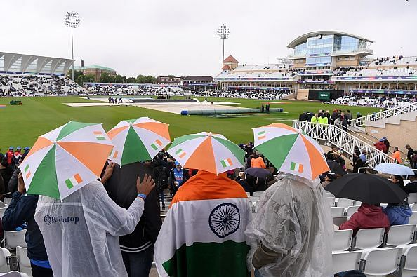 Could rain play spoilsport in the India-New Zealand game, again?