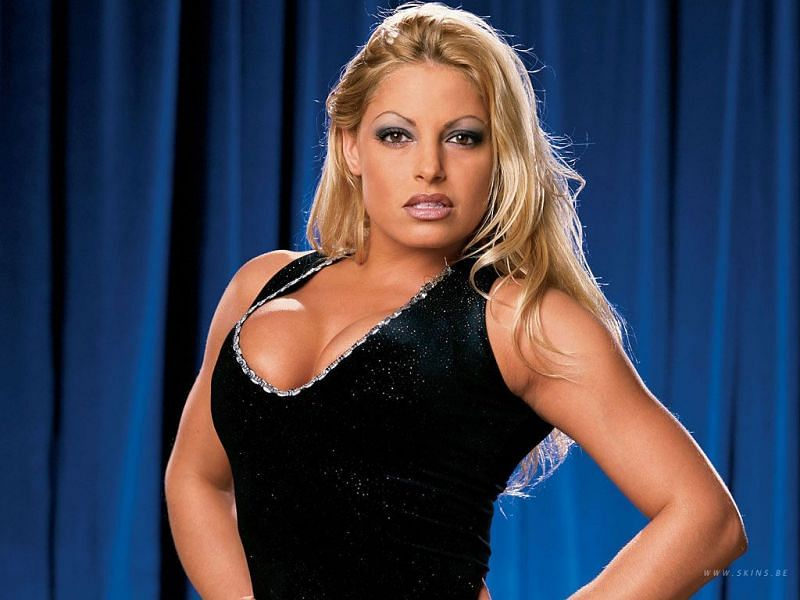 Trish during her WWE run