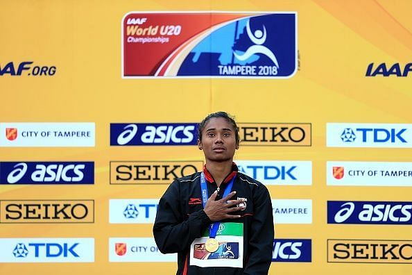 Hima Das shall be one of the medal prospects for India in the events to come