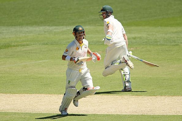 Australia are bolstered by the return of David Warner (left) and Steven Smith