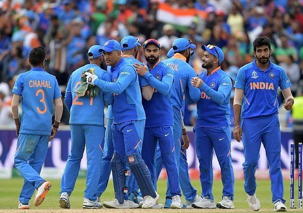 भारतीय टीम सेमीफाइनल में पहुंचने के बाद