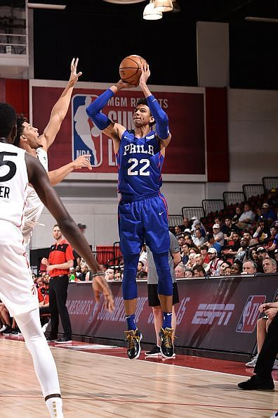 2019 Las Vegas Summer League - Day 8 - Philadelphia 76ers v Toronto Raptors