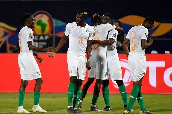 Ivory Coast bounced back from their crushing defeat against Morocco in thumping fashion as they ran riot against Namibia