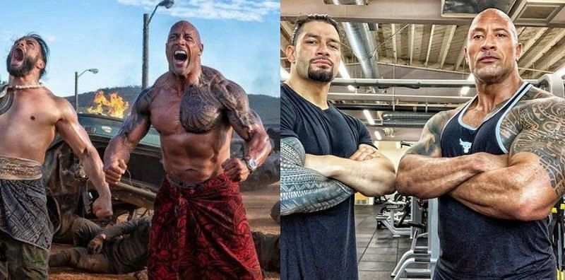 WWE powerhouses Roman Reigns and The Rock are true sports-entertainers