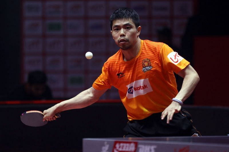 Chuang in action against the RP-SG Mavericks