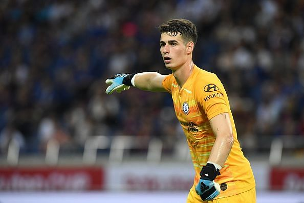 Kepa would be seeking to become the third Chelsea goalkeeper to win the award