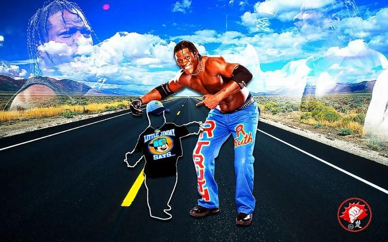 R-Truth and Little Jimmy