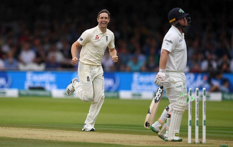 Chirs Woakes takes a 6-fer in the Second Innings.