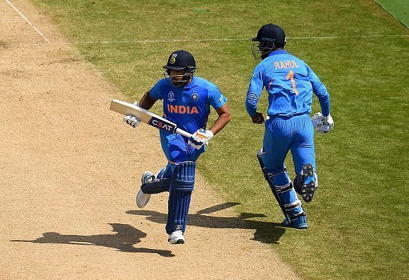 The Indian openers showed their intent right from the beginning.