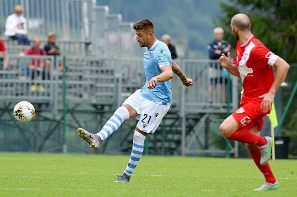 Sergej Milinkovic-Savic could play alongside Dybala at Manchester United