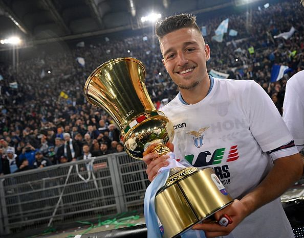 Sergej Milinkovic-Savic has been linked with Manchester United.
