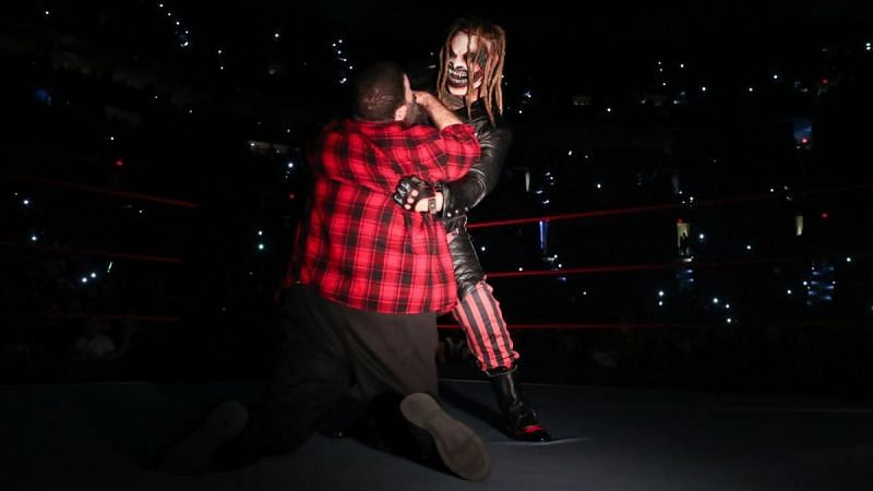 The Fiend was back on Raw, but did he