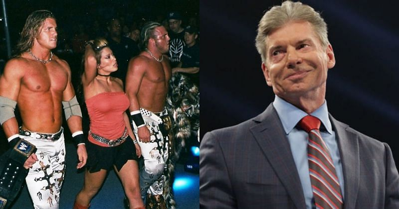 MNM and Vince McMahon.