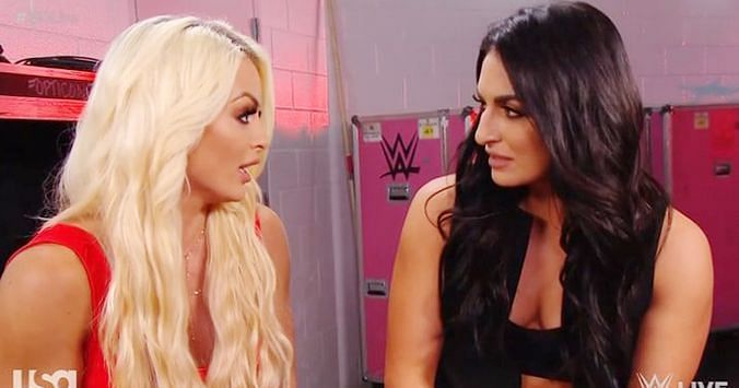 Mandy Rose and Sonya Deville perform for WWE