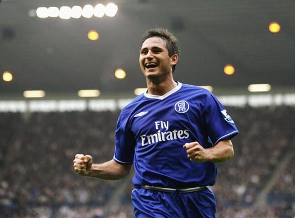 Frank Lampard of Chelsea celebrates