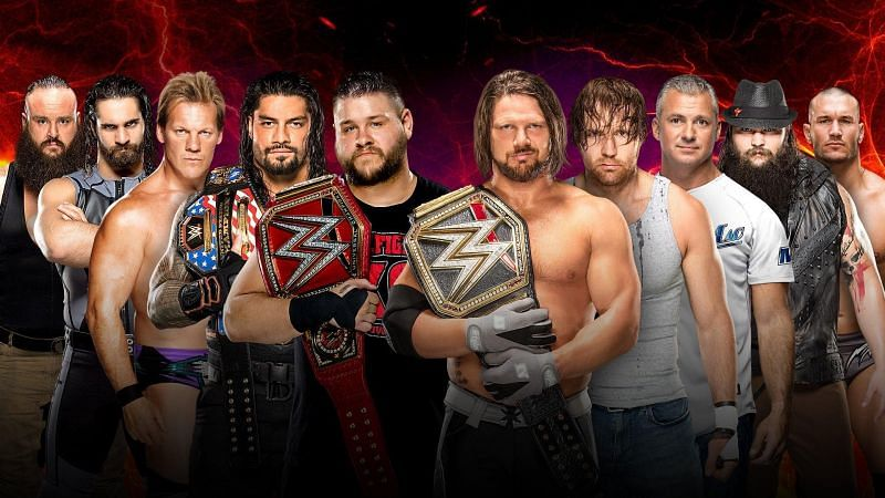 Team Raw vs Team SmackDown LIVE in a 5-on-5 Traditional Survivor Series Men's Elimination Match