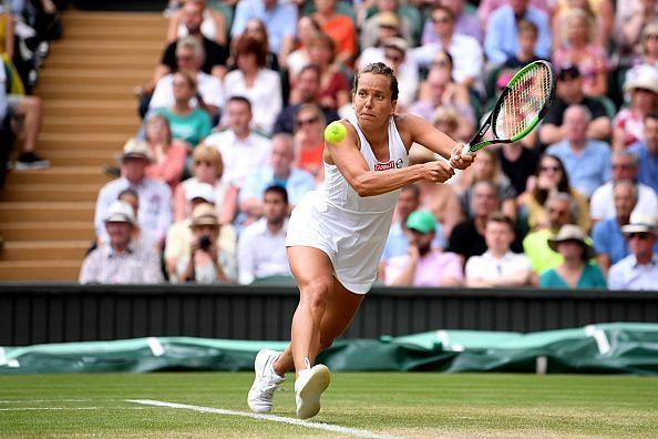 Barbora Strycova cruised into the semifinals