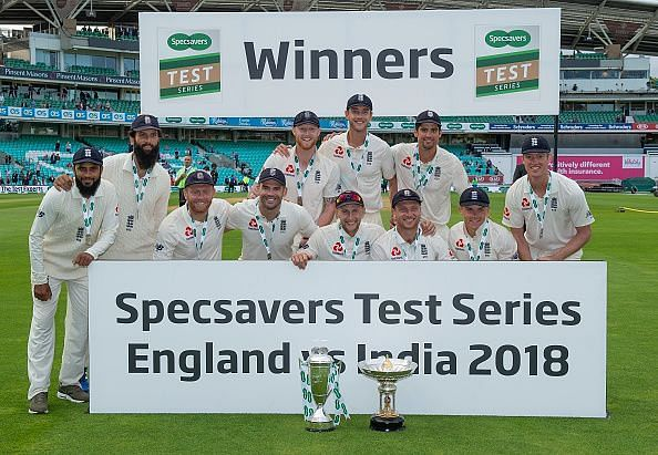 England after beating India at home in 2018