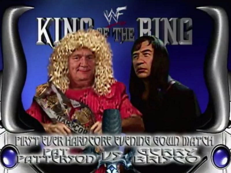 Pat Patterson defended the Hardcore Title versus the man he won it from at King of the Ring 2000