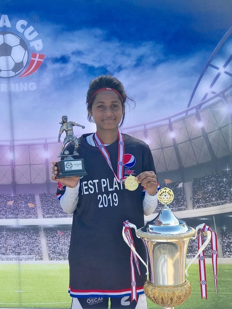 Anita Kumari, Best Player Award winner
