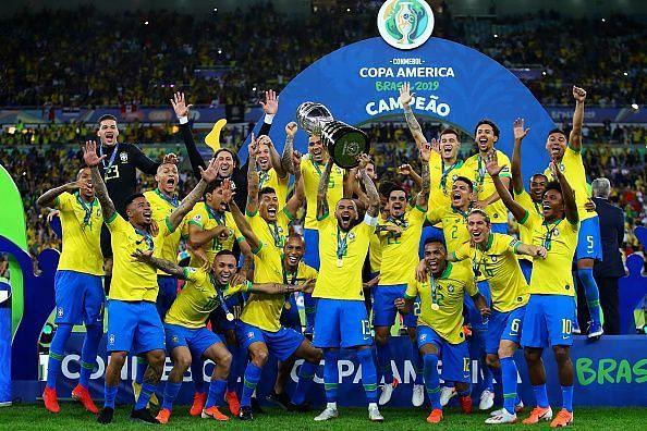 ब्राज़ील ने नौवीं बार कोपा अमेरिका का खिताब जीता