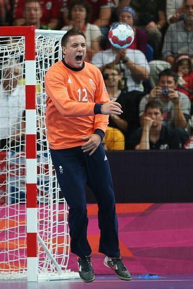 Team GB captain Bobby White shifted from football to handball