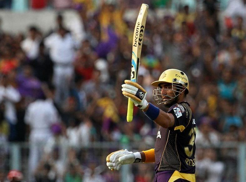 Uthappa offers experience and class on the field