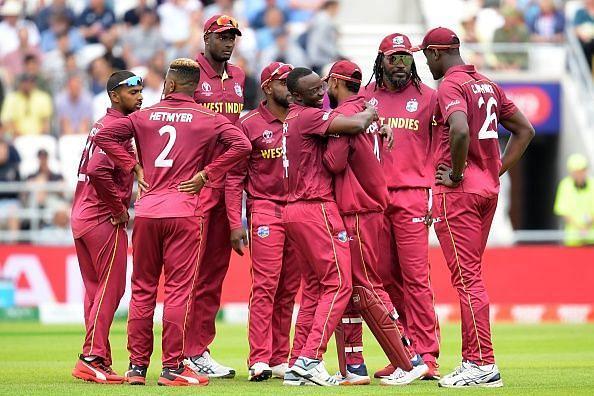 वेस्टइंडीज की टीम वर्ल्ड कप 2019 में सिर्फ 2जीत ही दर्ज़ कर सकी