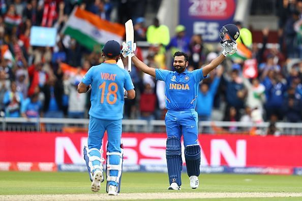 Rohit was in top form throughout the tournament