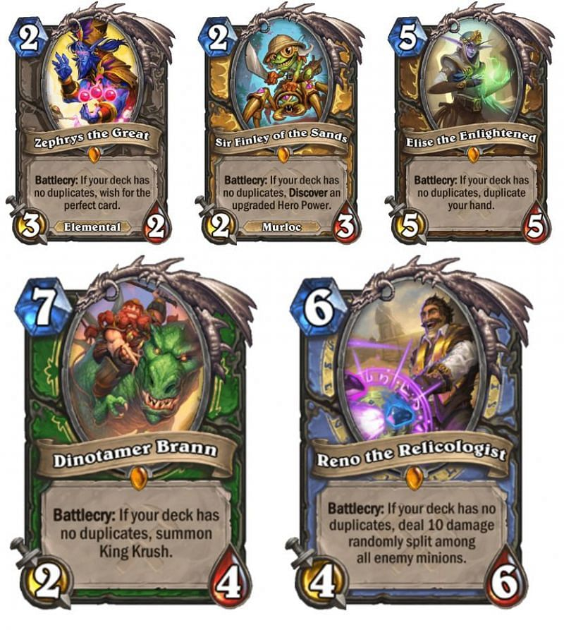 New Highlander cards from the expansion