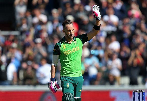 फाफ डू प्लेसी को दक्षिण अफ्रीका का वर्ष का सर्वश्रेष्ठ क्रिकेटर चुना गया हैं