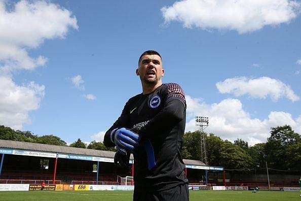Matt Ryan made 3 very important saves to keep Brighton