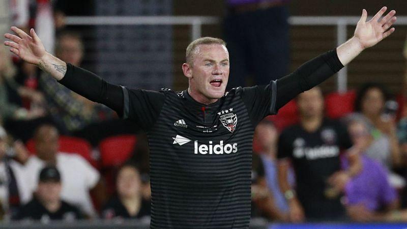 DC United forward Wayne Rooney