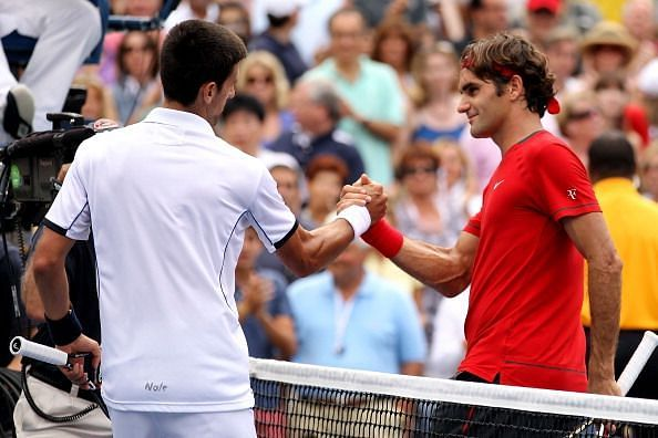 In the 2011 semifinals, Federer lost with match points for the second time in as many years