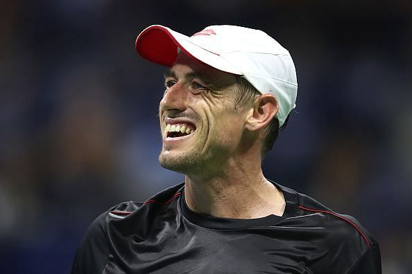 John Millman is the 76th different player Federer faced at the US Open (2018 4th round)