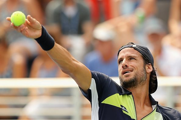 Feliciano Lopez is the only active player with more consecutive appearances at the US Open than Federer