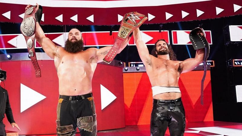 The new RAW Tag Team Champions