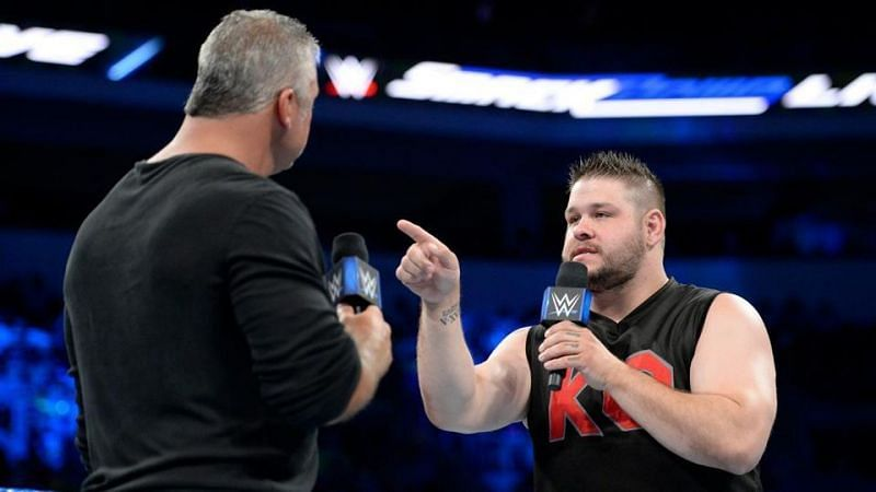 Shane McMahon and Kevin Owens