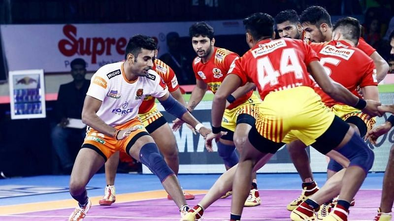 Puneri Paltan recorded their first-ever win over the Gujarat Fortune Giants