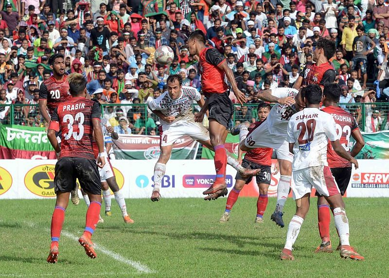 Mohun Bagan is yet to score a goal in the Calcutta Football League this season