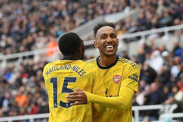 Pierre-Emerick Aubameyang made Newcastle United pay for their mistake with his clinical finish